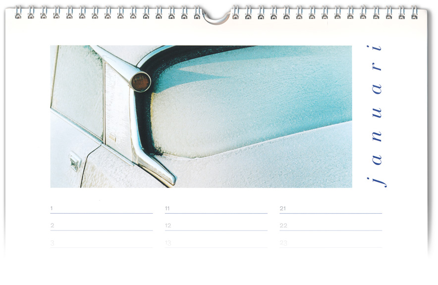 kalender Citroën DS Club | cover